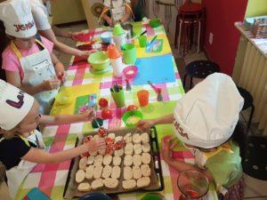 Kochkurs zum Kindergeburtstag in Berlin beim Kinder KOCHSPASS