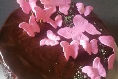 Torte Schmetterlinge